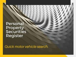 Save Money by Using the Personal Property Securities Register (PPSR)