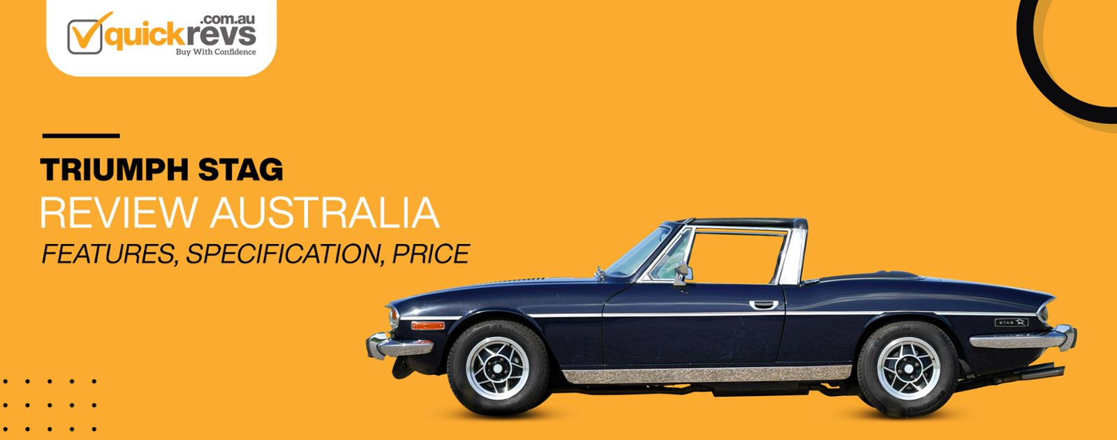 Triumph Stag Review Australia | Features, Specification, Price