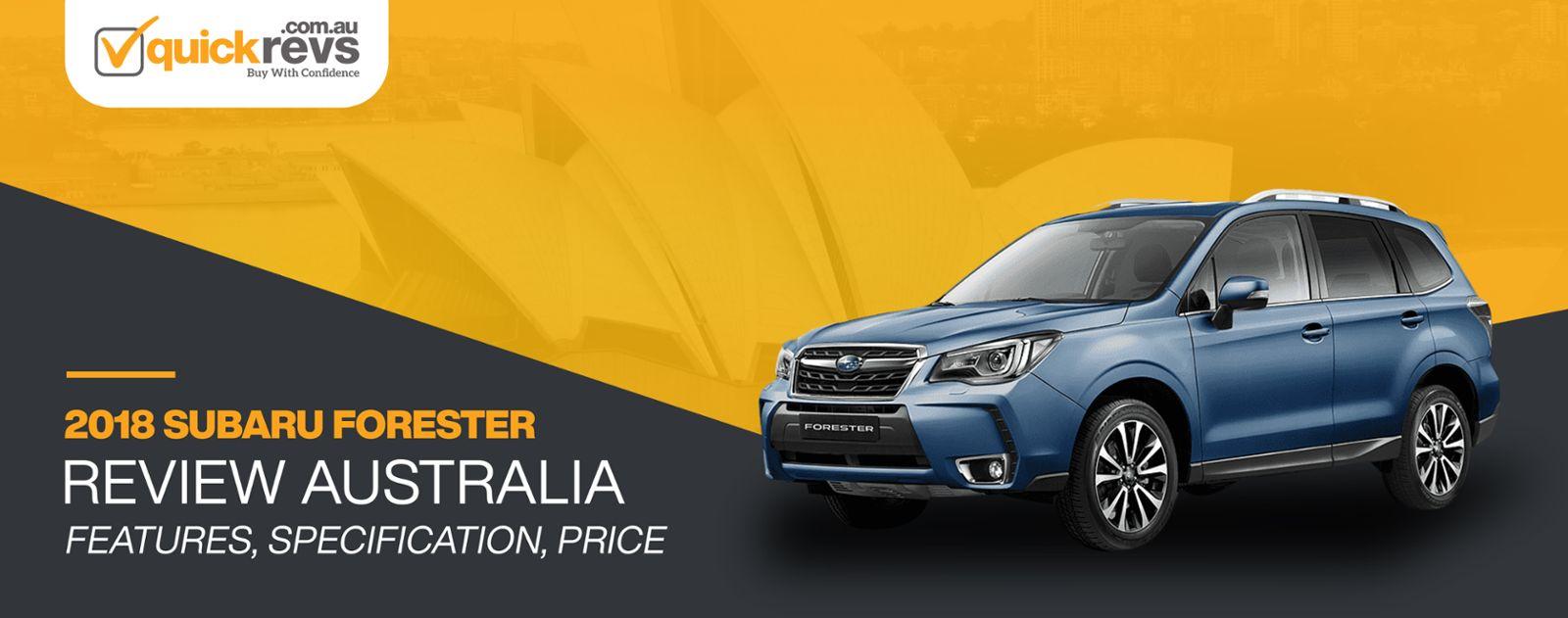 2018 Subaru Forester Review Australia