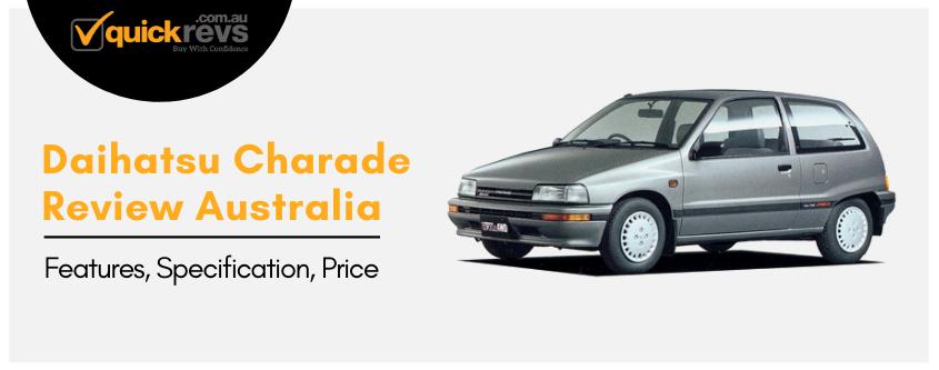 Daihatsu Charade Review Australia