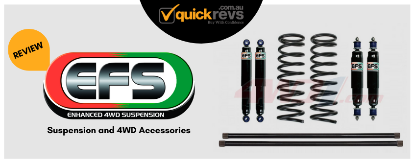 EFS Suspension Review Australia | Suspension and 4WD Accessories