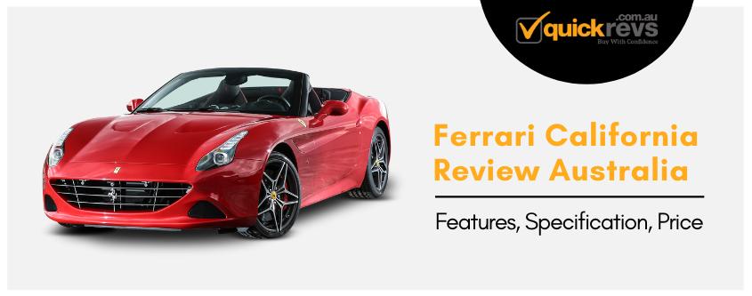 Ferrari California Review Australia