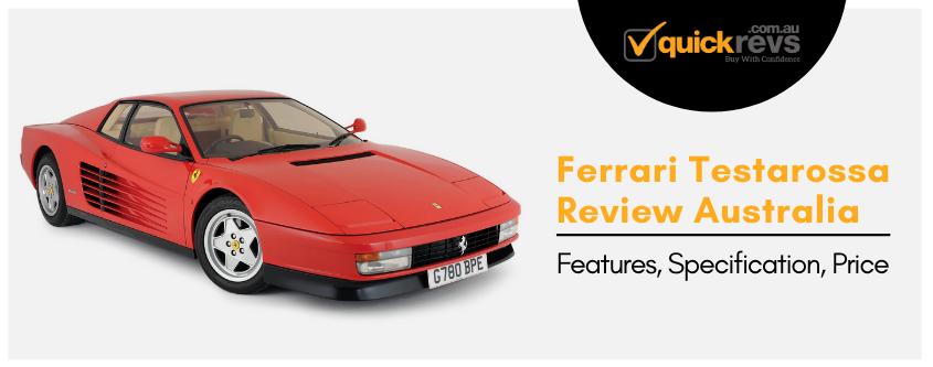 Ferrari Testarossa Review Australia