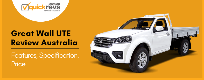 Great Wall UTE Review Australia