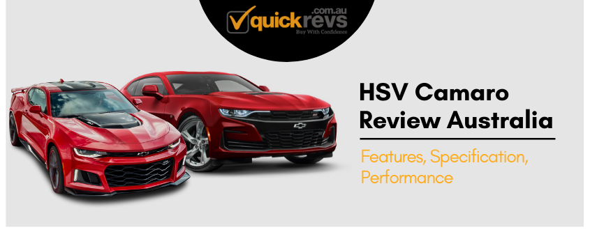 HSV Camaro Review Australia