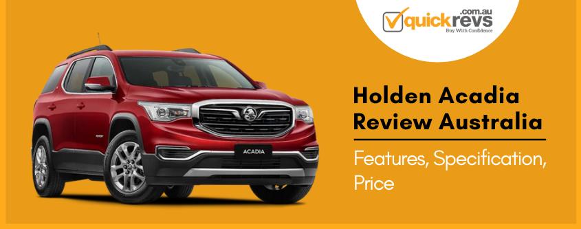 Holden Acadia Review Australia