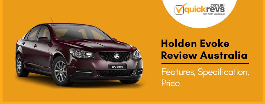 Holden Evoke Review Australia