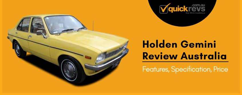 Holden Gemini Review Australia