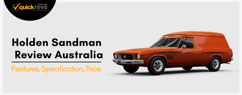 Holden Sandman Review Australia