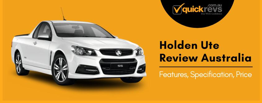 Holden Ute Review Australia