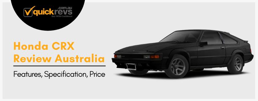 Honda CRX Review Australia