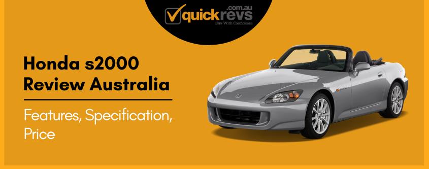 Honda s2000 Review Australia