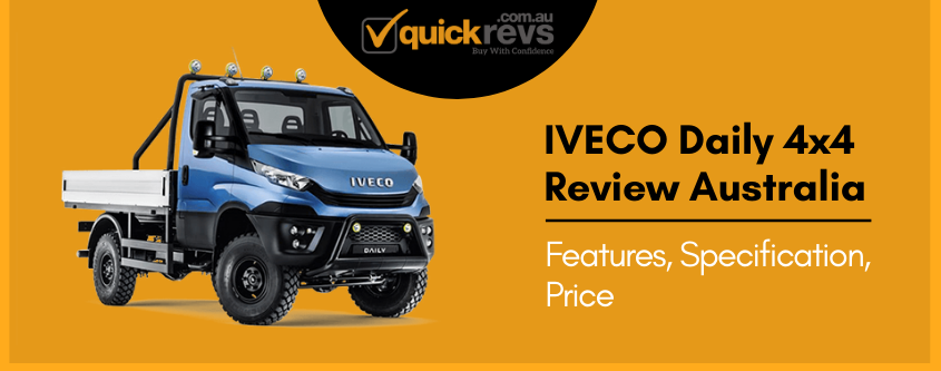 IVECO Daily 4x4 Review Australia | Features, Specification, Price