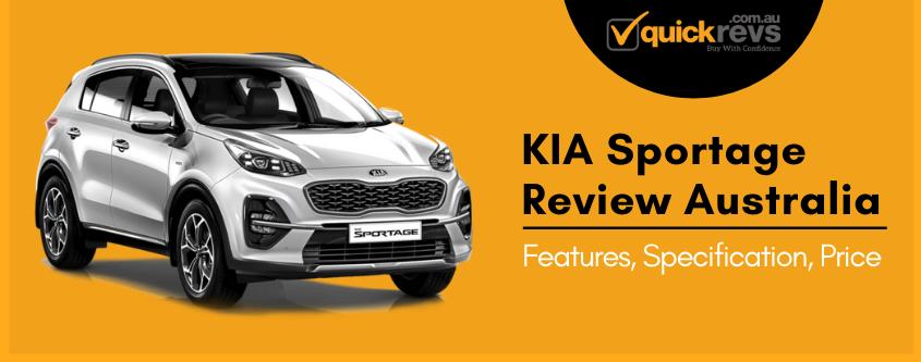 KIA Sportage Review Australia