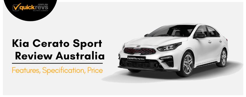 Kia Cerato Sport Review Australia
