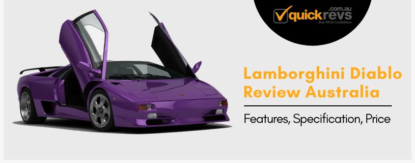 Lamborghini Diablo Review Australia