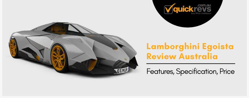 Lamborghini Egoista Review Australia