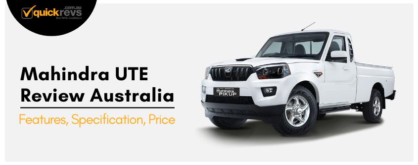 Mahindra UTE Review Australia