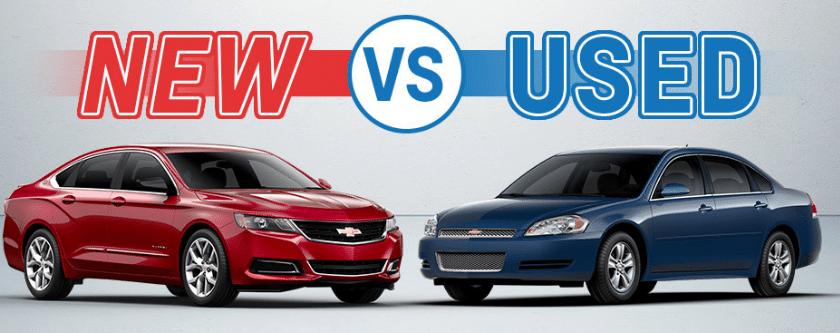 buy a new car vs used car