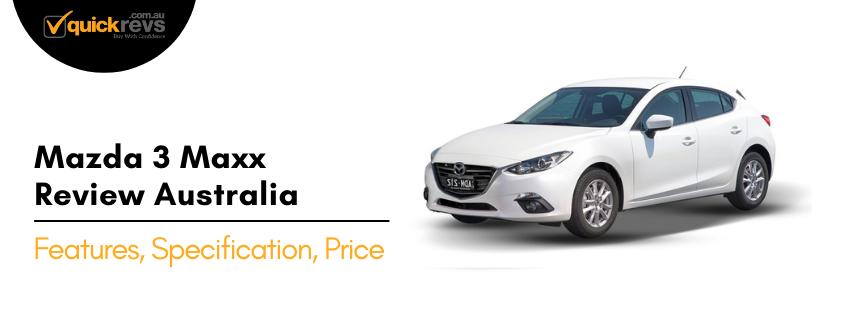 Mazda 3 Maxx Review Australia