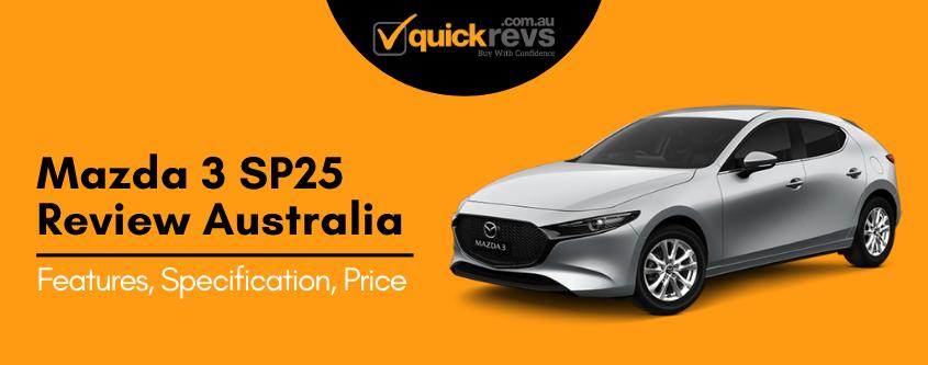 Mazda 3 sp25 Review Australia