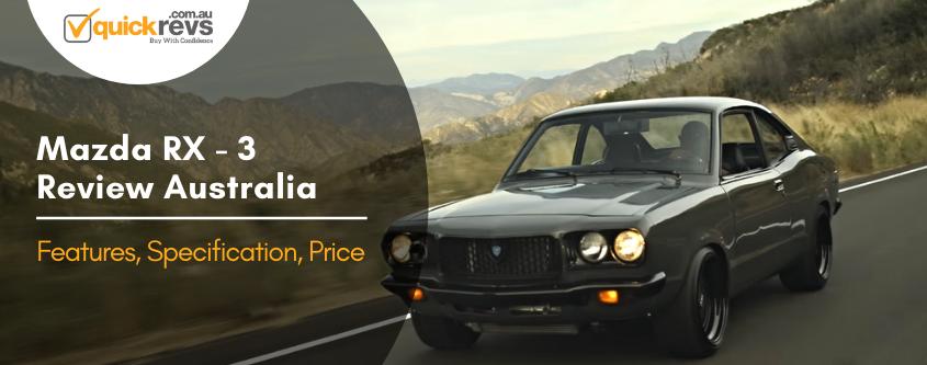 Mazda RX3 Review Australia