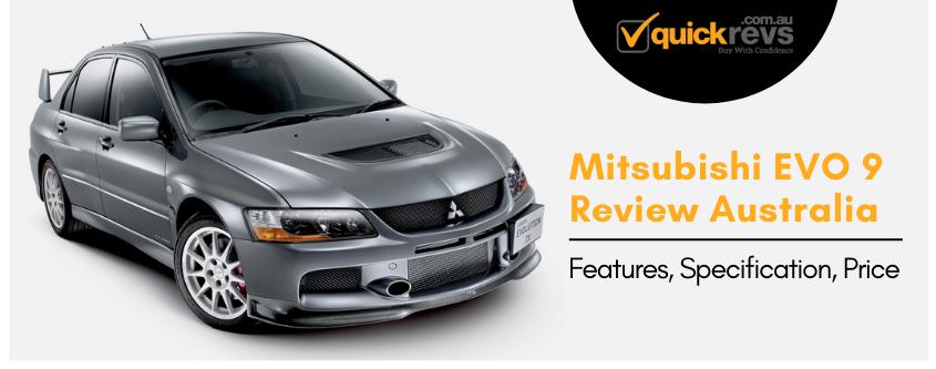 Mitsubishi EVO 9 Review Australia