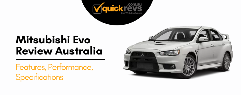 Mitsubishi Evo Review Australia
