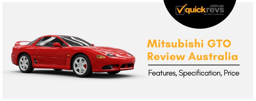 Mitsubishi GTO Review Australia