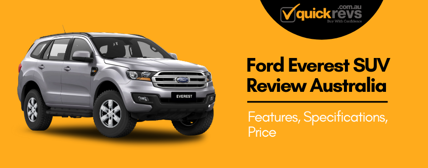 Ford Everest SUV Review Australia