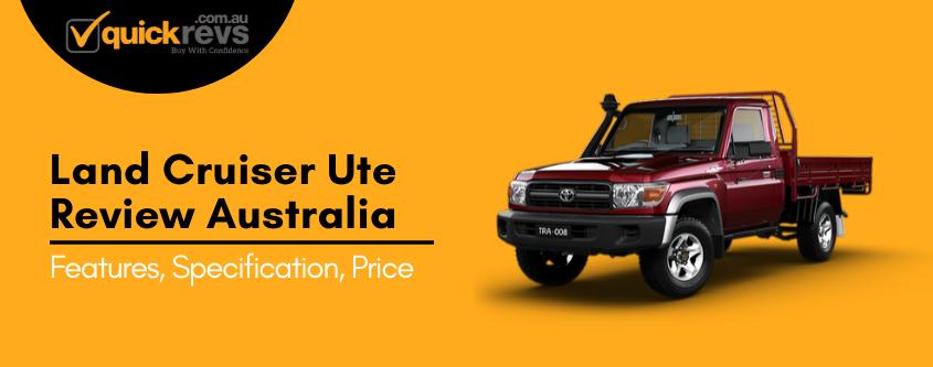 Land Cruiser Ute Review Australia