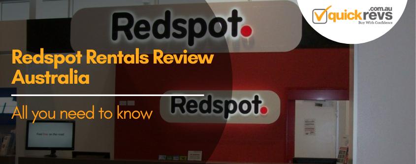 Redspot Rentals Review Australia
