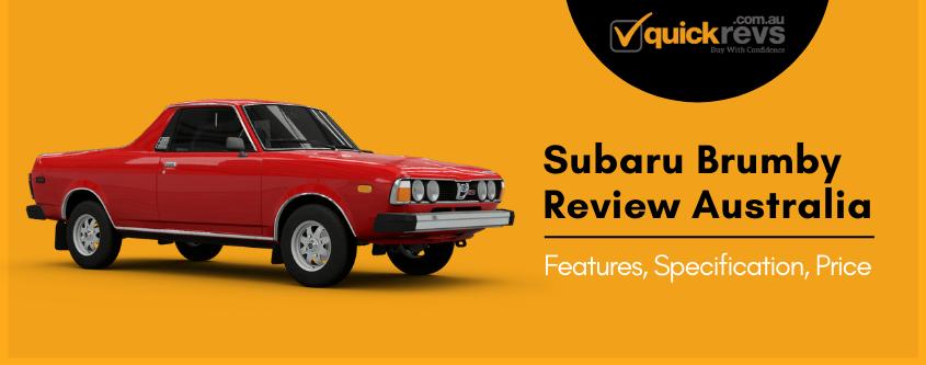 Subaru Brumby Review Australia