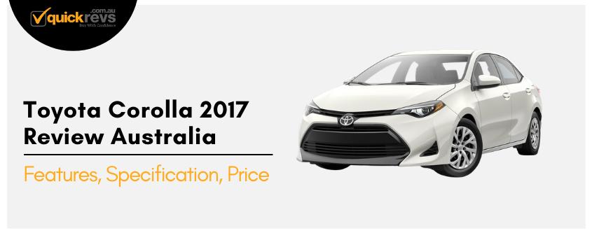 Toyota Corolla 2017 Review Australia