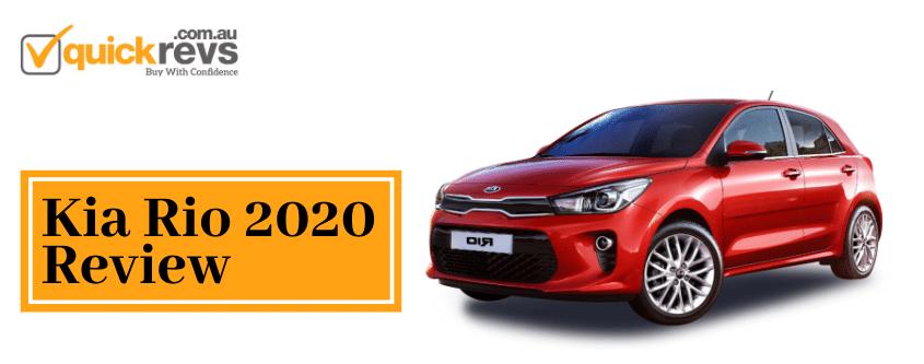 Kia Rio 2020 Review