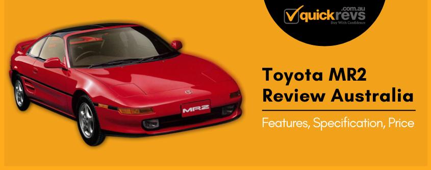 Toyota MR2 Review Australia