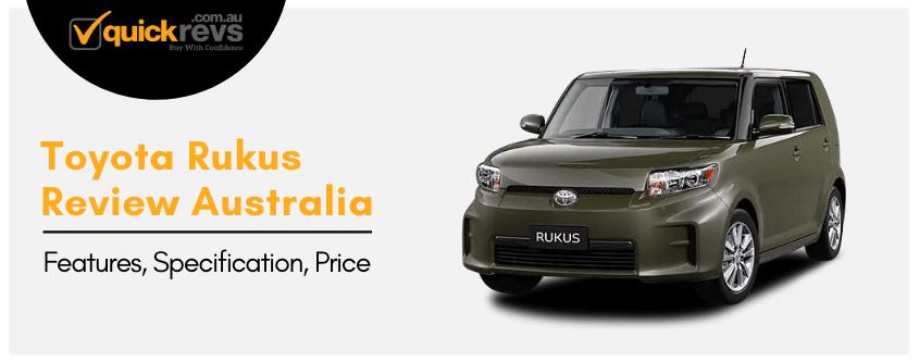 Toyota Rukus Review Australia