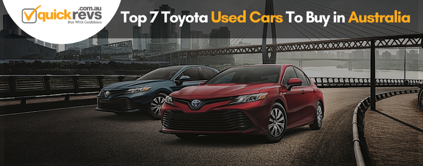 Toyota Used Cars To Buy in Australia