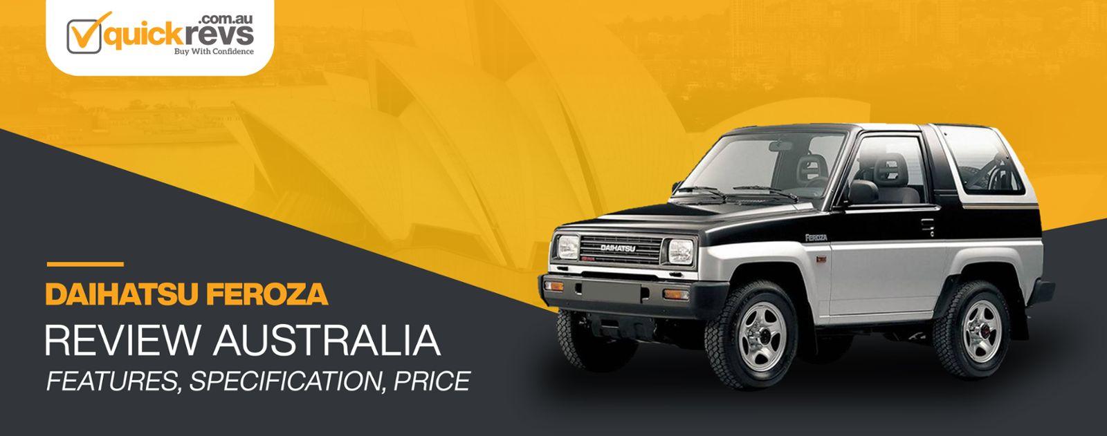 Daihatsu Feroza Review Australia