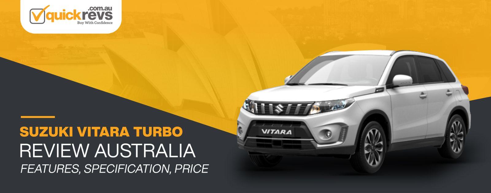 Suzuki Vitara Turbo Review Australia