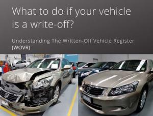 The Written-Off Vehicle Register